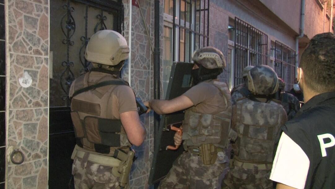 İstanbul'da narkotik operasyonu: 22 şüpheli yakalandı