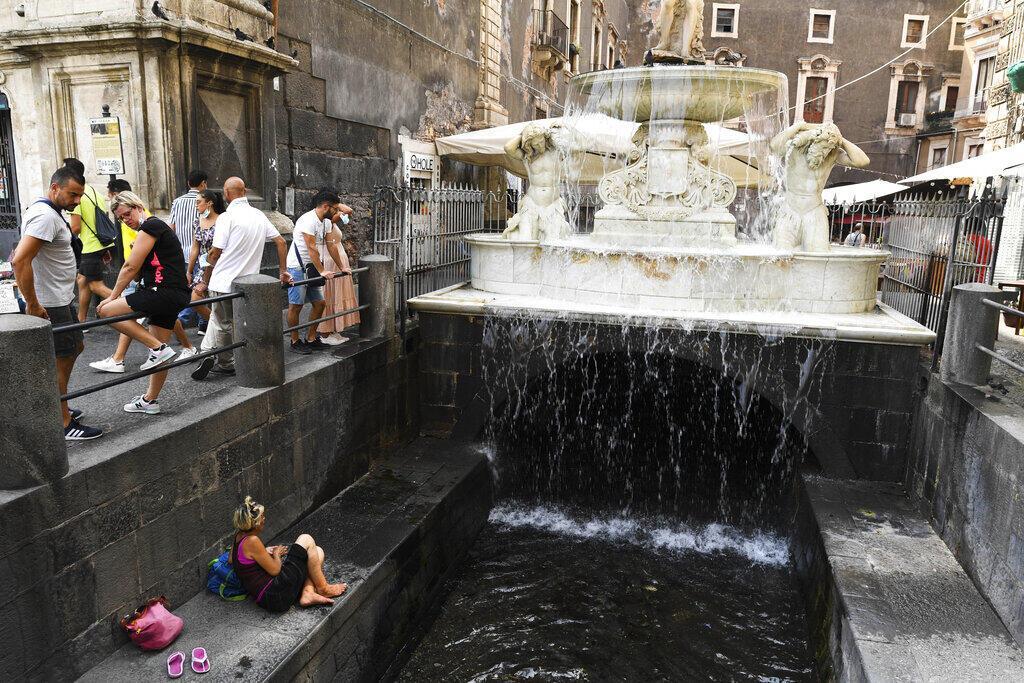 Kırmızı alarm verildi: Sicilya'da Avrupa sıcaklık rekoru